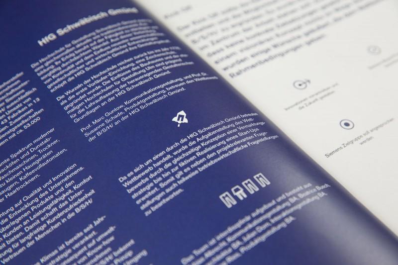 Layout und Icondesign für eva Dokumentation