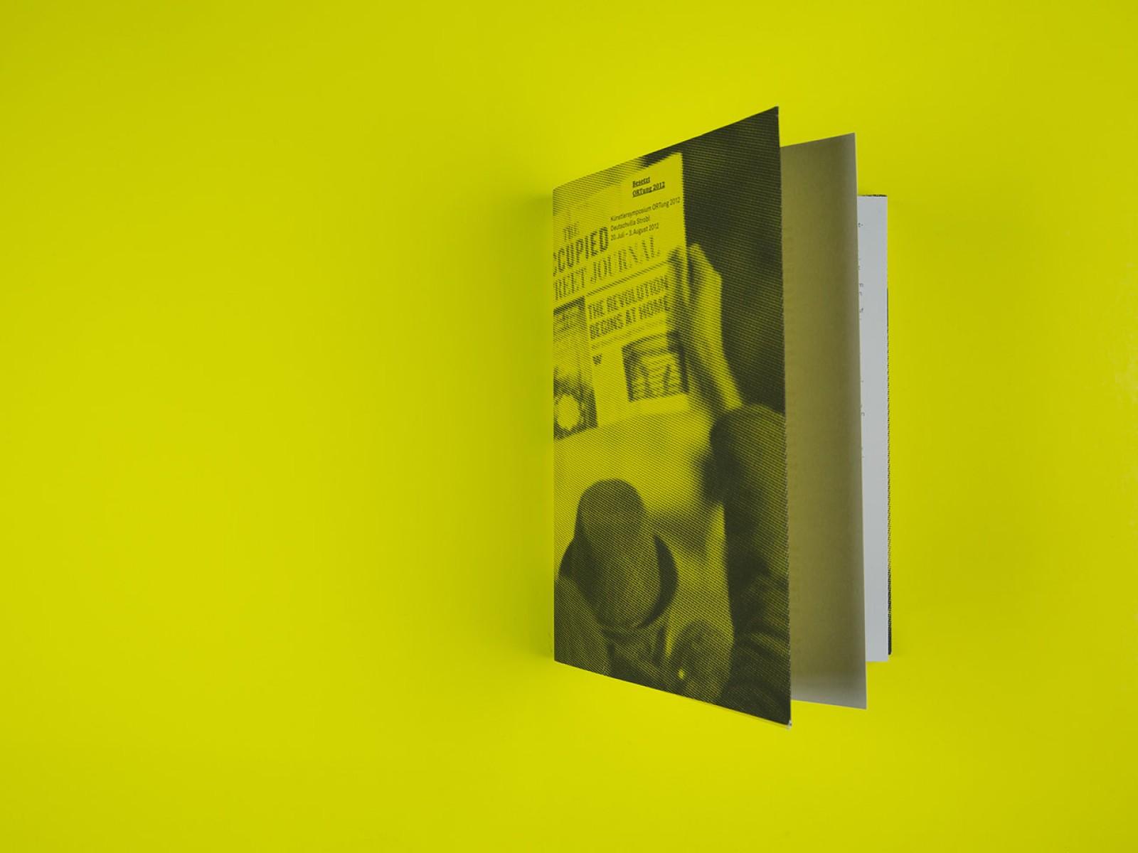 Layout und Gestaltung des Ausstellungskatalogs Salzburger Kunstverein